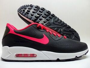 reputable site 4818f 131fb Image is loading NIKE-AIR-MAX-90-HYPERFUSE-ID-BLACK-INFRARED-