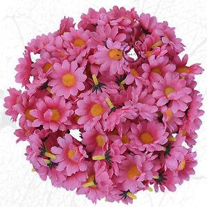 Details Zu 20 Gerbera Rosa Margerite Blüten Daisy Kunstblume Deko Basteln Floristik Scrap