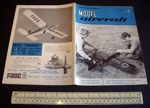 Vintage Model Aircraft Magazine (July 1960) DC Tornado & Krick Tomboy Eng Tests