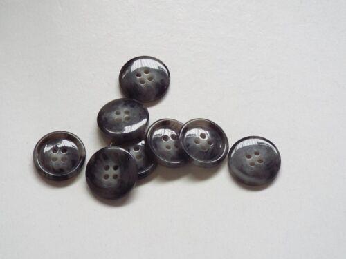 8pc milieu 20mm gris chiné cardigan pantalon chemise kid baby bouton 0367