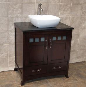 Image Is Loading 30 034 Bathroom Vanity 30 Inch Cabinet Black
