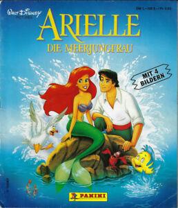 Panini Disney's Arielle Die Meerjungfrau 1989 teilgefülltes Album 78/232 schräg
