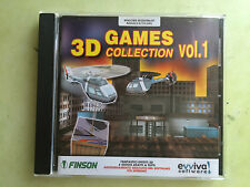 cd per pc - giocogames 3D collection vol. 1 - finson evviva software