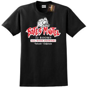 AgréAble Bates Motel Psycho T-shirt D'inspiration-classique Film D'horreur Film Tee Shirt-nouveau-afficher Le Titre D'origine Demande DéPassant L'Offre