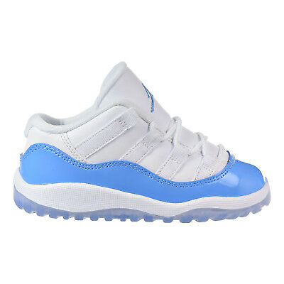 buy online 7751e b7cae Jordan 11 Retro Low BT Infants/Toddlers Shoes White/Blue-Black 505836-106 |  eBay