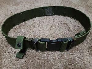 US Military WEB Belt Pistol Utility Belt Duty Belt LC-2 Quick Release LARGE EXC