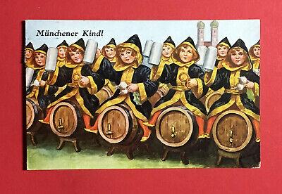 Gutherzig Reklame Ak MÜnchen 1929 Münchner Kindl Bier Bierkrug 48639 Ansichtskarten Deutschland