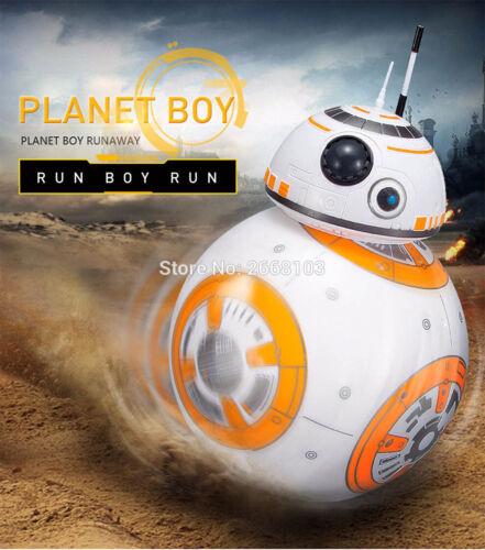 Controle Remoto 2.4G Controle Remoto Robô BB-8 Ball Som Star Wars Boneco de ação Presentes Brinquedos