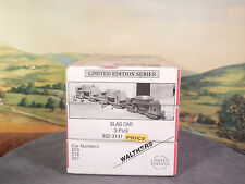 HO 1:87 Walthers Limited Edition No. 932-3141 SLAG CAR 3-PACK New NIB