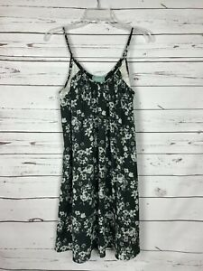 Skies-Are-Blue-Stitch-Fix-Womens-S-Small-Black-Lace-Floral-Sleeveless-Cute-Dress
