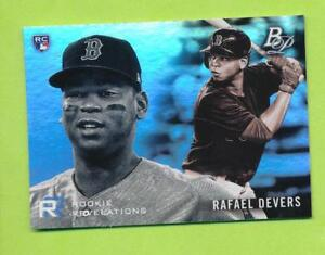 2018-Bowman-Platinum-Rookie-Revolution-Rafael-Devers-RR-13-Boston-Red-Sox