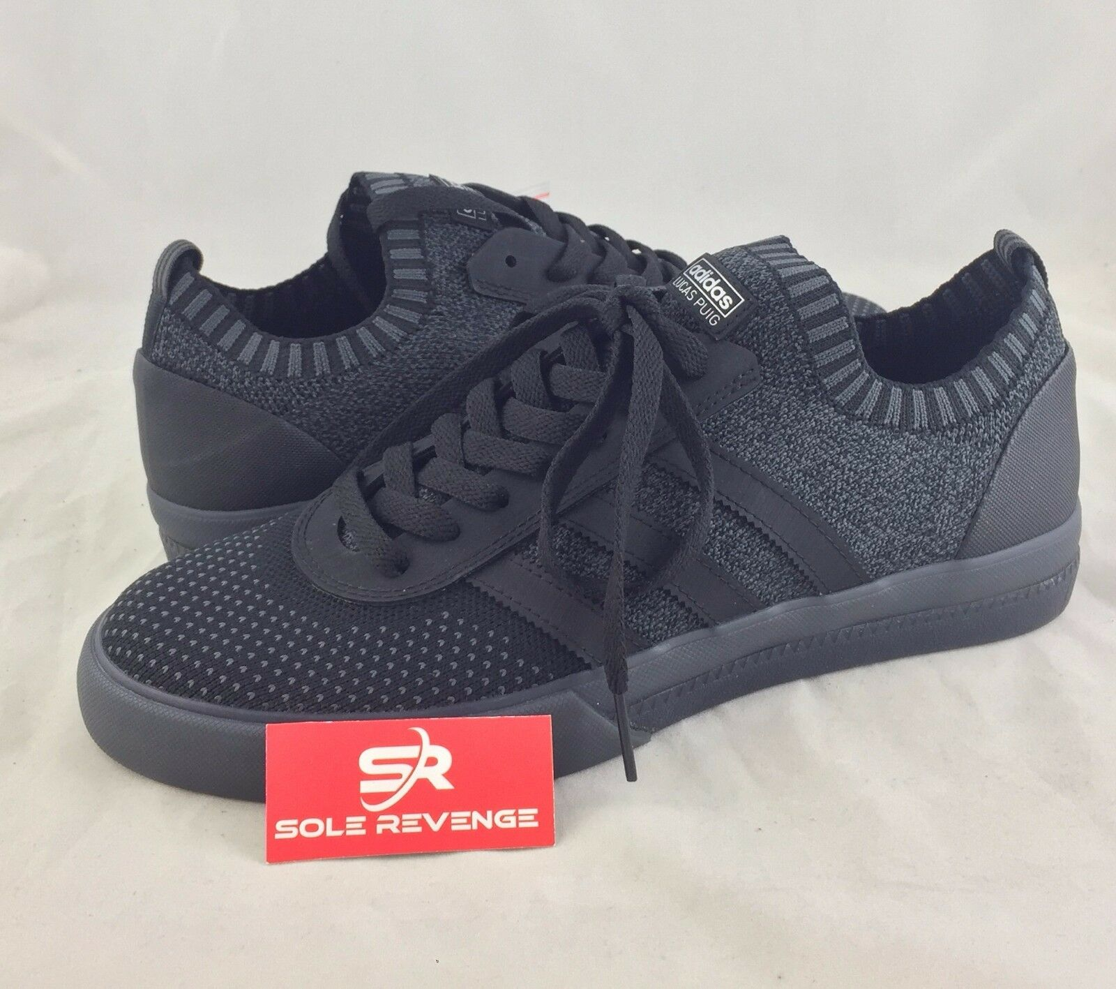 uk availability cd669 1650f NEW adidas Originals LUCAS PREMIERE PK Primeknit SHOES SHOES SHOES Noir  Shoes BB8550 s1 27ccde