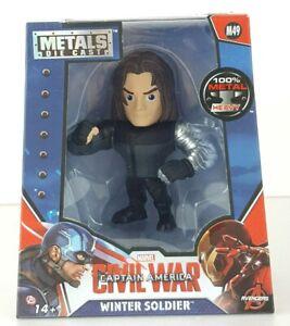 The-Winter-Soldier-Metals-Die-Cast-Captain-America-4-034-Figure-MARVEL-Jada-Toys