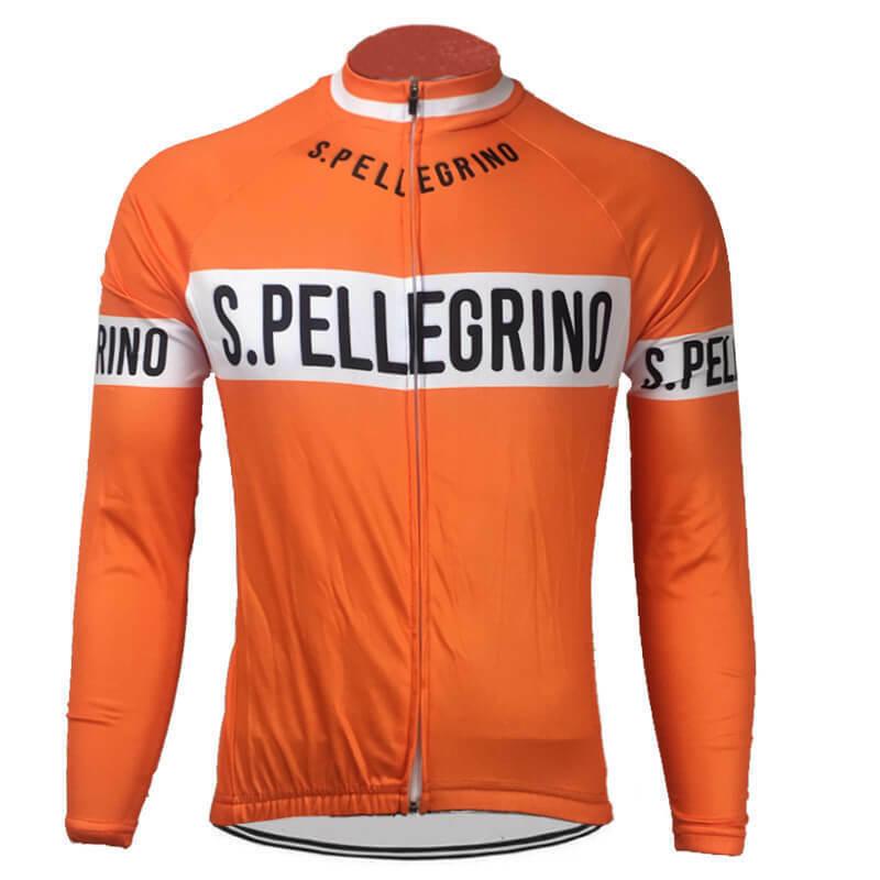 Brand New Team St Pellegrino winter fleece Jersey cycling Jersey