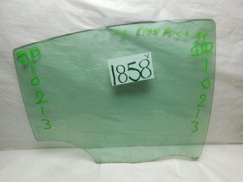 04 05 06 07 08 Pontiac Grand Prix REAR PASSENGER Side Door Glass USED 1858V
