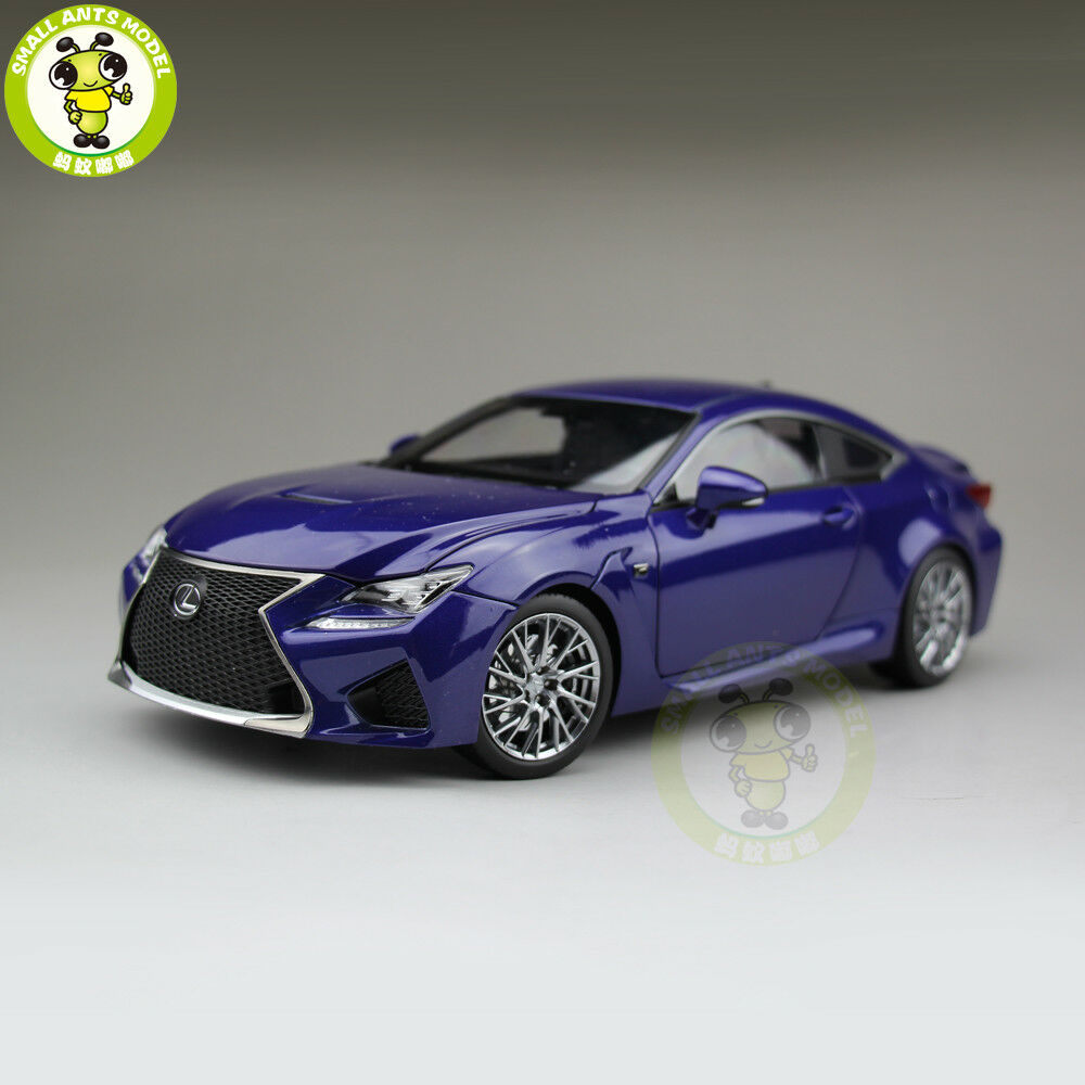 1 18 Jugueteota Lexus RCF RC F Diecast Model Coche hobby collection Gifts azul