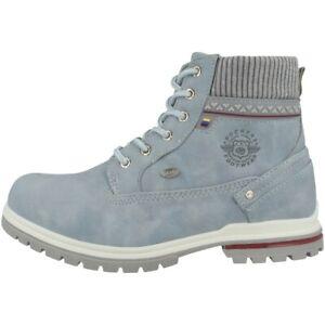 Dockers by Gerli 45BI701 Schuhe Boots Stiefel Stiefeletten blue 45BI701-637610