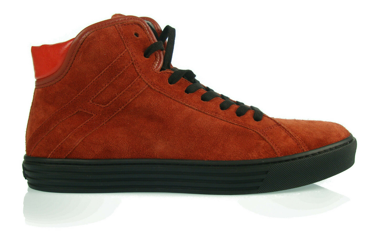 HOGAN rebel Men's SHOES new sneakers hi top SHOES herrenshuhe 100% AUTHENT m1