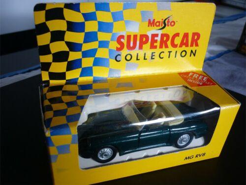 MAISTO MG RV8 SUPERCAR COLLECTION