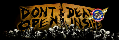 """Zombie The Walking Dead /""""Truck Rear Window Graphic/"""" Free add Text"""