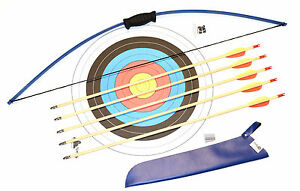 Bogenschießen Weitere Sportarten 100% Quality Bogenset Bogen Für Kinder Ab 5 Jahre Mit 5 Holzpfeilen