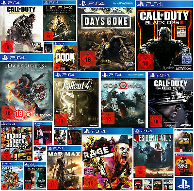 Beliebte Spiele Ps4