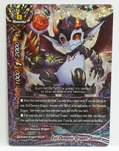 DARKNESS WORLD S-BT05 RR Future Card BUDDYFIGHT EVIL DEMONIC DRAGON simiae