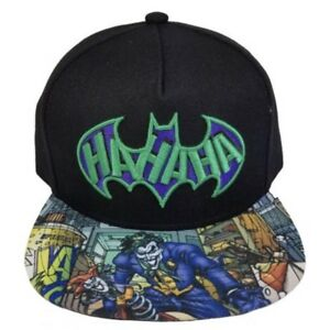 6c3234347 Details about Batman Joker DC Comics Unisex Baseball Cap/Hat Flat Brim  SnapBack