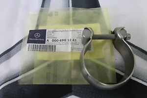 Genuine-Mercedes-Benz-Central-Exhaust-Clamp-65mm-A000490124128-NEW