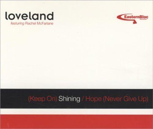 1 von 1 - Loveland (Keep on) shining/Hope (2 versions each, 1994, feat. Rachel.. [Maxi-CD]