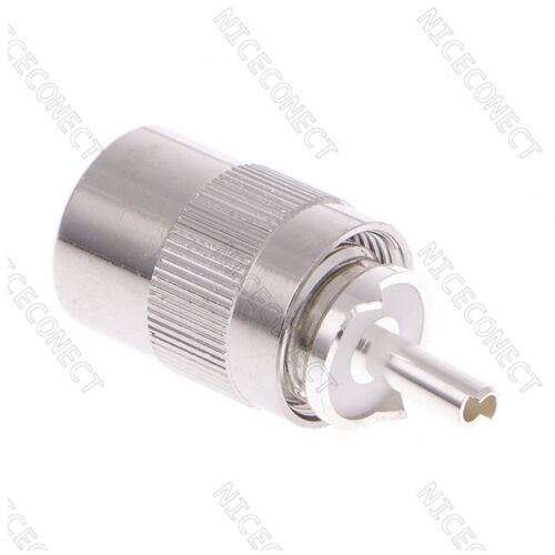 10x UHF PL259 Male Solder on RF Connector Plug For RG8X RG213 LMR400 7D-FB Cable