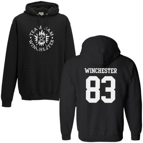 Team Sam Winchester 83 Hoodie Supernatural Saving People Hunting Things Hoody