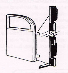 Ford Closed Car Door Hinge Seal Kit 1941-1948