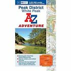 Peak District (White) Adventure Atlas by Geographers' A-Z Map Company (Paperback, 2013)