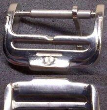 Original Baume et Mercier Buckle Fibbia 16mm inner S. Steel Mint Cond. L@@K ! !