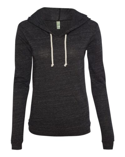 Hooded T-shirt Hoodie Tee 1928 Alternative Apparel Ladies Eco Jersey Hoody
