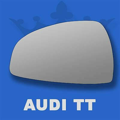 Audi A8 2002-2007 left passenger near side convex mirror glass 257LS