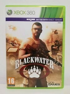 Blackwater-Xbox-360-and-Kinect-UK-PAL-Mint-Condition-Fast-Free-P-amp-P