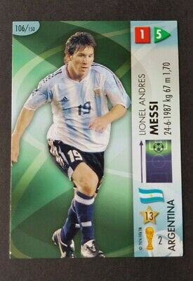 2006 Panini World Cup Germany 06 Complete Trading Card Set 1 205 Lionel Messi 1733342440