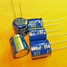 PANASONIC Low ESR Kondensator  FC  470uF 63V 16x20mm  RM7,5 0,059R  #BP 10 pcs