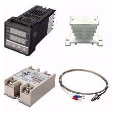 Digital 220v Pid Rex C100 Temperature Controller Max40a Ssr K Thermocouple