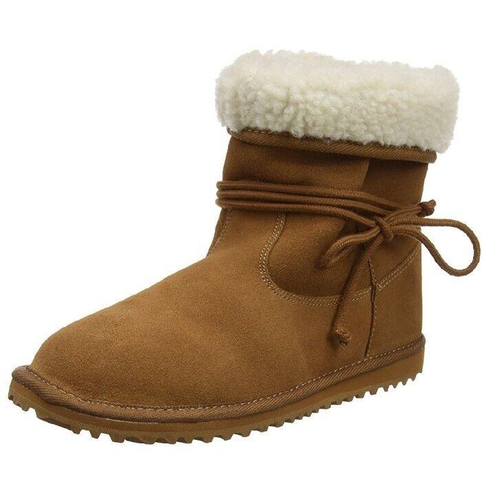 Roxy Damenschuhe Penny Stiefel BRAND Braun (Tan) 5 UK BRAND Stiefel NEW BOXED 04c5bf