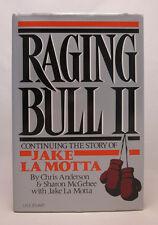 Raging Bull II SIGNED Jake LaMotta - First Edition - Jake La Motta