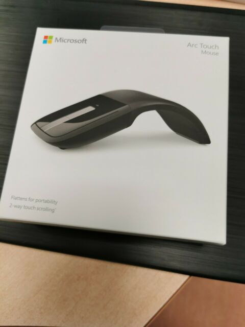 Microsoft Arc Touch Mouse USB INFRAROUGE RVF-00050 noir neuf