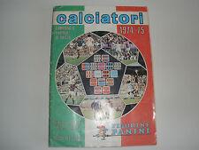 MANCOLISTE FIGURINE PANINI -CALCIATORI 1974-75- REC.- REMOVED FROM AN ALBUM