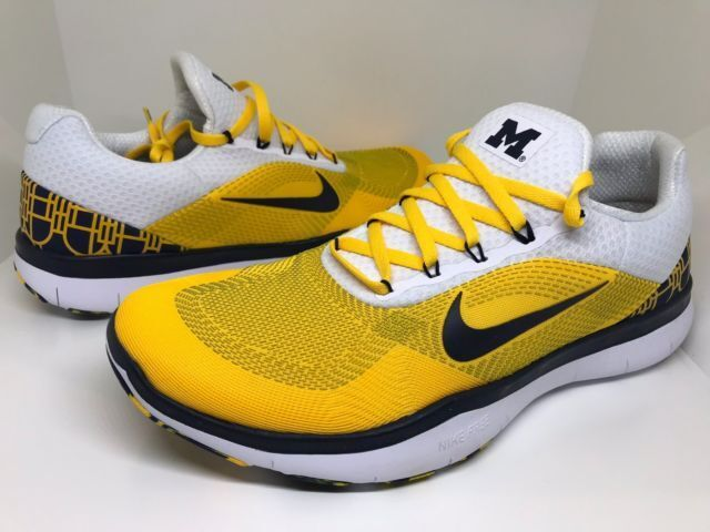 brand new 7b7eb 385d1 Aa0881 700 Nike Trainer V7 Week Zero Michigan Wolverines Size 9.5 Mens for  sale online   eBay