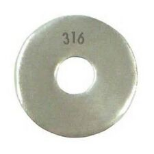 Stainless Steel Fender Washer 5//16 x 2 Qty 100
