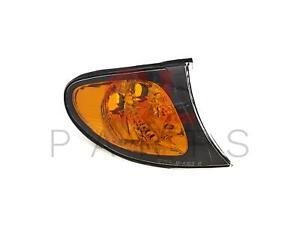 FOR BMW 3 E46 2001-2005 Corner Lamp Turn Signal Light Right TYC Amber 7165848