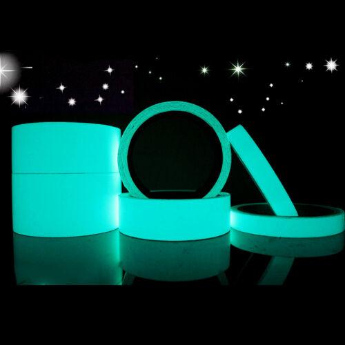Hogar Y Decoración de fiesta de 1 piezas brillan en la oscuridad Cinta Adhesiva PVC cinta de Neón