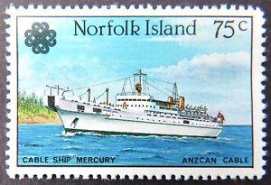 1983-Norfolk-Island-Stamps-World-Communications-Year-Single-75c-MNH